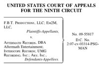 D12 Court Records F B T Productions Llc V Aftermath Records