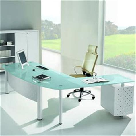 Office Desk With Glass Top Glass Top Desks From Rof Of Ta Fl Aid In Office Comfort Organization