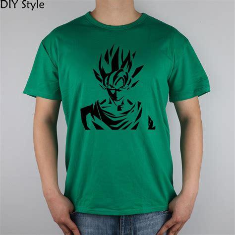 vinyl shirts goku saiyan z logo anime vinyl die