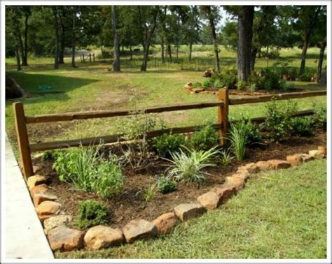 rustic landscaping ideas for a backyard top 25 best rock border ideas on edging
