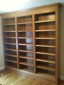 woodworking bookshelf built ins cherry wood bookcase built in