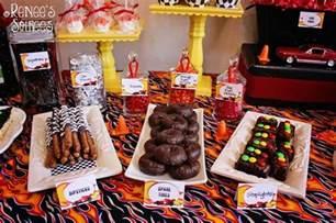 Decorative Picks For Cupcakes Kara S Party Ideas Race Car Birthday Party Planning Ideas