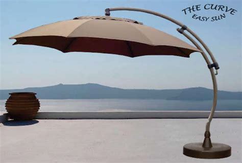 Sun Garden Umbrella by Outdoorlivingmadeeasy Sun Garden Curve Cantilever Umbrella