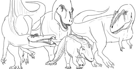 giganotosaurus coloring pages printable coloring pages
