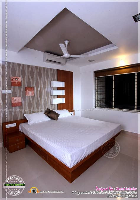finished interior designs  kerala kerala home design