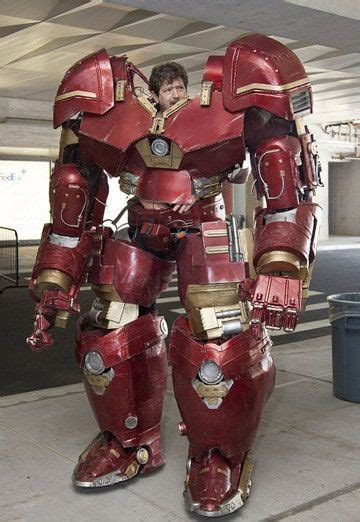 iron man hulkbuster cosplay xrobots damiens saves