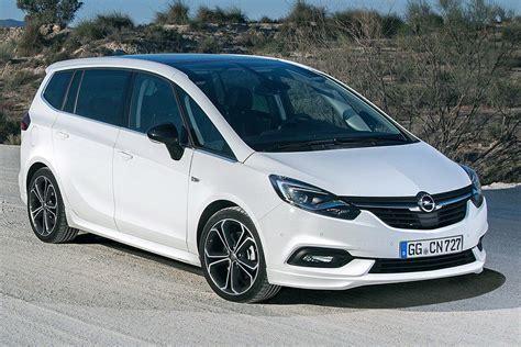 opel zafira 2018 opel zafira facelift 2016 vorstellung infos und preis
