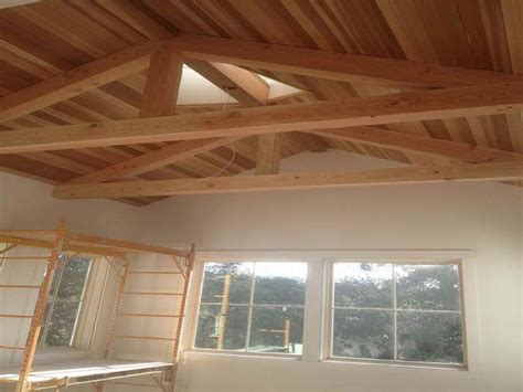Installing Wood Ceiling Planks by Roofing How To Install Wood Ceiling Planks With Creative