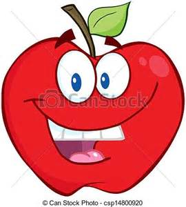 imagenes de manzanas animadas vector illustration of smiling red apple smiling apple