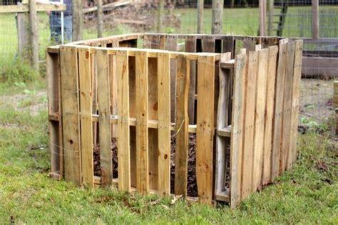 komposter aus holz selber bauen 50 ideen zum thema komposter selber bauen