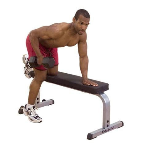 exercises on bench body solid gfb350 flat workout bench