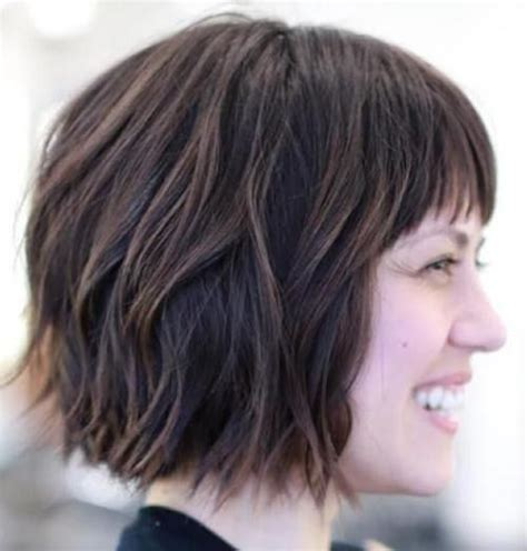 choppy bob for over 60 60 classy short haircuts and hairstyles for thick hair