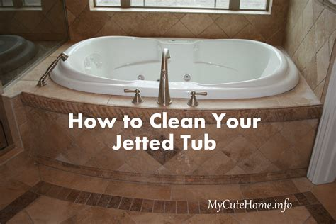 how to clean a jetted bathtub my cute home make your life cute