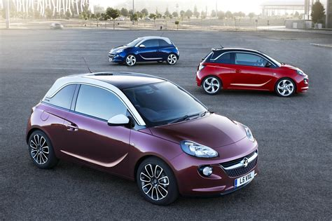 opel fiat the all new opel adam unveiled to rival the fiat 500