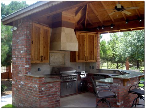 backyard kitchens landscape design installation