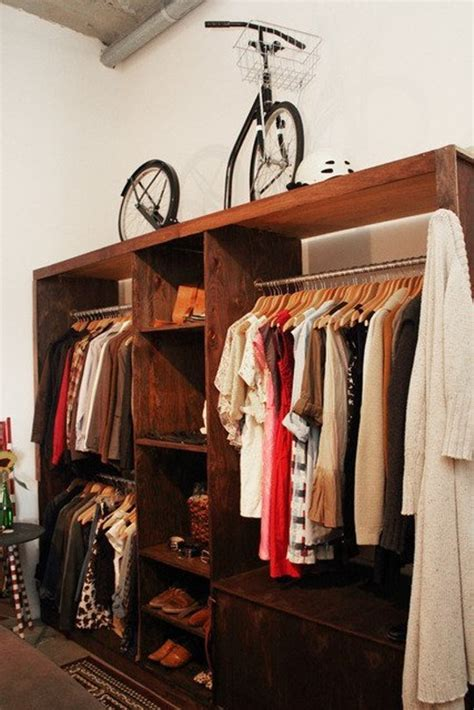 living without closets small space solutions