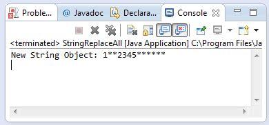 pattern java replaceall java string replaceall method exle