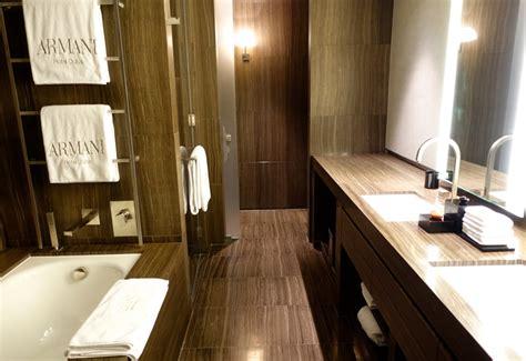 bathtub in hotel room armani hotel dubai photos and virtuoso client review