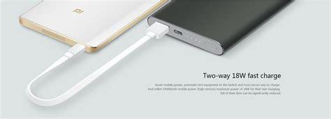 Trand Xiaomi Powerbank 2 10000 Mah Fast Charging Original Jv1365 xiaomi mi power bank pro 10000mah type c price in india