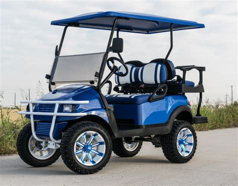 golf cart blue wheeler golf cart nationwide sales shipping