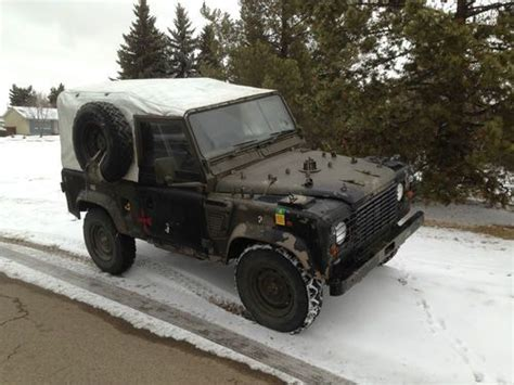 buy a used wolf or find used extremely rare land rover defender wolf edition uk army in edmonton alberta canada