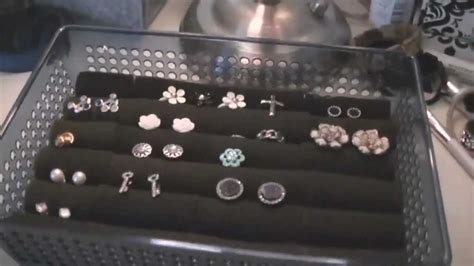 how to make a ring holder for a jewelry box d i y stud earring ring holder