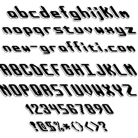 block letter font styles images alphabet graffiti