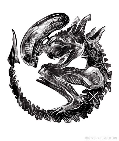 queen xenomorph tattoo http 65 media tumblr com