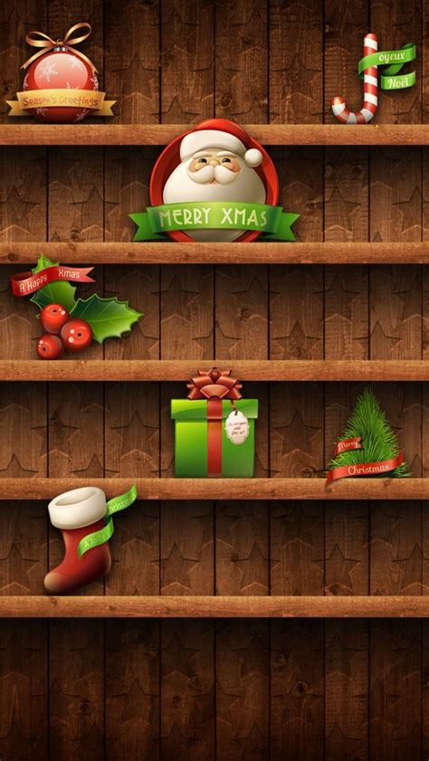 christmas iphone wallpapers    cost godfather style