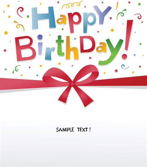 happy birthday design elements happy birthday design elements free vector free vector in