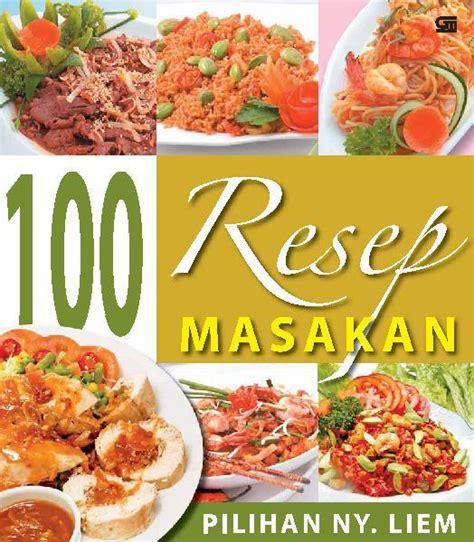 gambar cover buku resep masakan terbaik gambar id