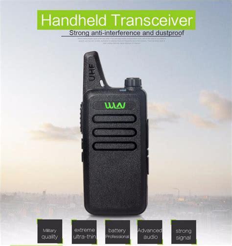 For Wln Walkie Talkie Two Way Radio 1 portable radio wln kd c1 mini wiress walkie talkie uhf