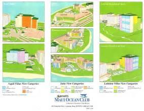 28 marriott maui ocean club floor plan marriott
