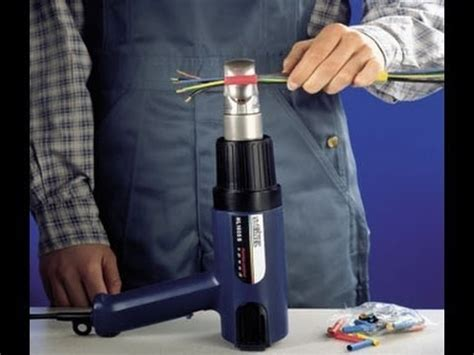 Hair Dryer Heat Shrink Tubing activating heatshrink using a hairdryer doovi