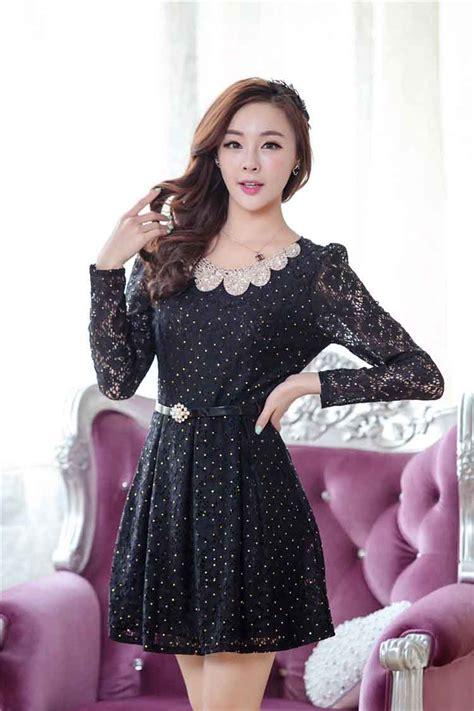 Kutubaru Bahan Brukat Korea dress korea bahan brokat model terbaru jual murah import kerja