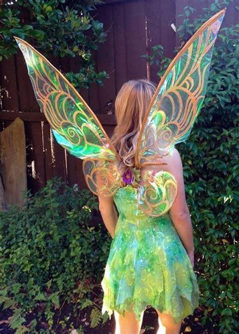 tinkerbellfairy costume beautiful cellophane wings