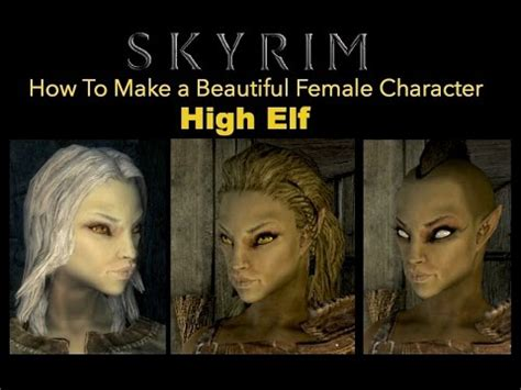 How To Make Meme Videos - skyrim how to make a beautiful female character high