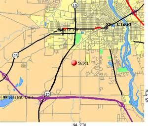 Mn Zip Code 56301 Zip Code St Cloud Minnesota Profile Homes