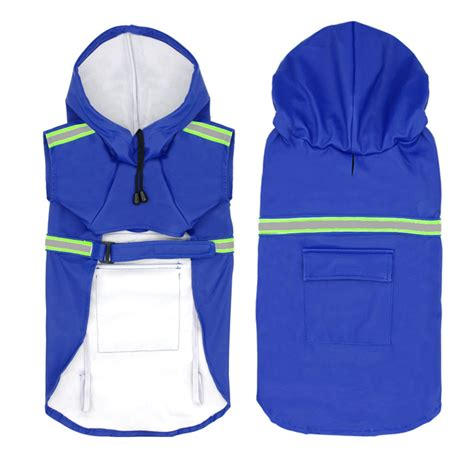Jaket Anti Hujan Anjing Waterproof Jaket Anti Hujan Anjing Waterproof Size M Blue Jakartanotebook