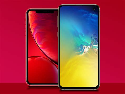 samsung galaxy s10e vs apple iphone xr the weigh in stuff