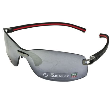 Tag Heuer Lensa tag heuer track s sunglasses black frame polarized grey lens at intheholegolf