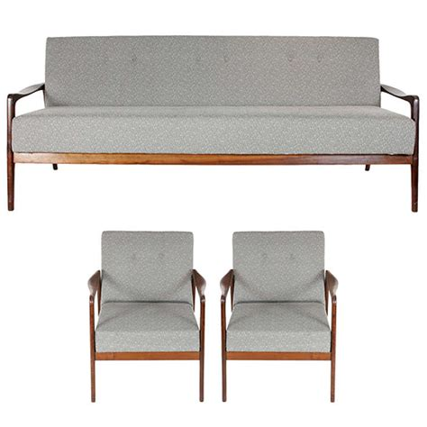 1960 s sofa bed set 3 pieces at 1stdibs - 3 Sofa Bed Set