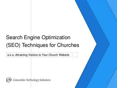 Search Optimization Techniques by Search Engine Optimization Seo Techniques For Churches