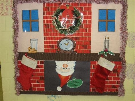 decorating christmas bulletin boards and door decorations