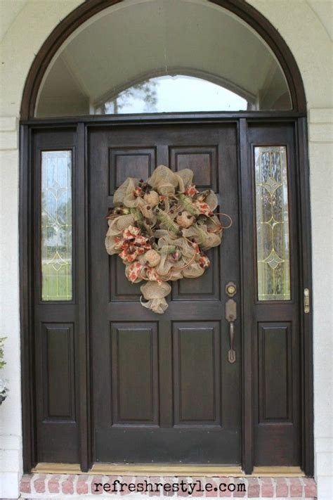 Stain Exterior Door 25 Best Ideas About Stained Front Door On Pinterest Front Door Painting Front Door Paint
