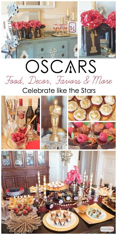 Oscars Menu Recap Recipes Galore by Oscar Ideas Celebrate Like The Recipe