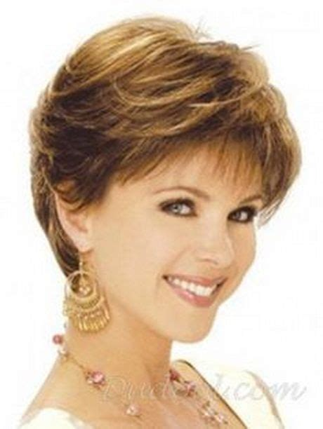 short duck tail style hairstyles with sides feathered back for older women over 60 short feathered haircuts pinteres
