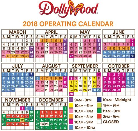 Good Dollywood Smoky Mountain Christmas #5: Dollywood-hours-2018.jpg