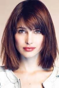 medium blunt hairstyles with bangs 13 fabulous medium hairstyles with bangs pretty designs