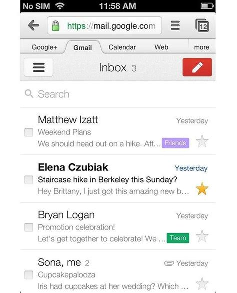 mobile gmail gmail mobile ui improved androidpit
